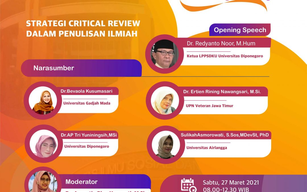 Kuliah Dosen Tamu S1 Administrasi Publik PSDKU Kab. Rembang